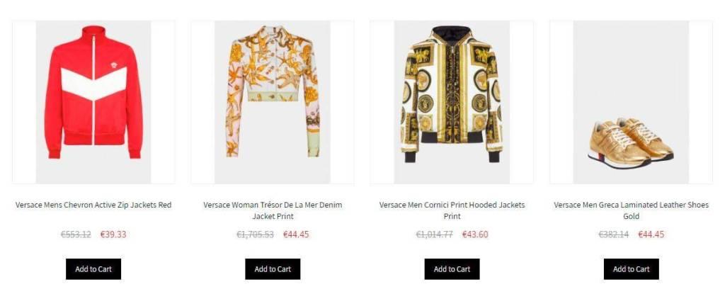 Classical Versace.com Tienda Falsa Online