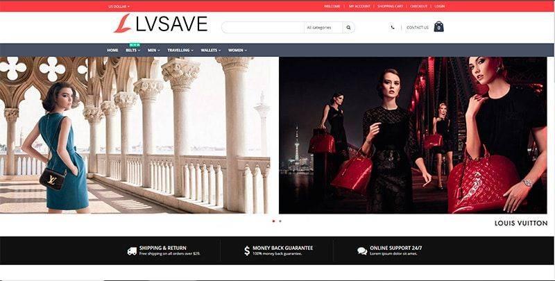 Lvsave.com Tienda Falsa Online Louis Vuitton