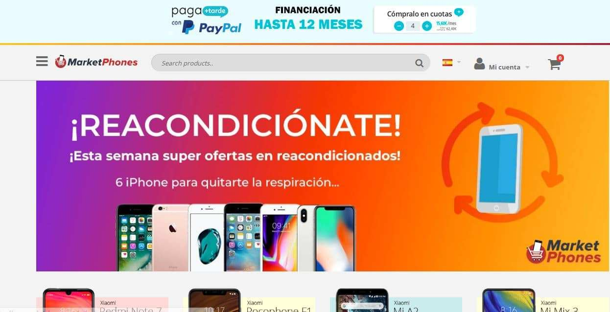 Marketphones.com Tienda Falsa Online Moviles