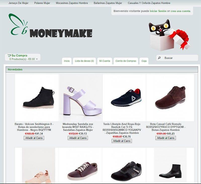 Moneymakers.es Tienda Falsa Online Moda