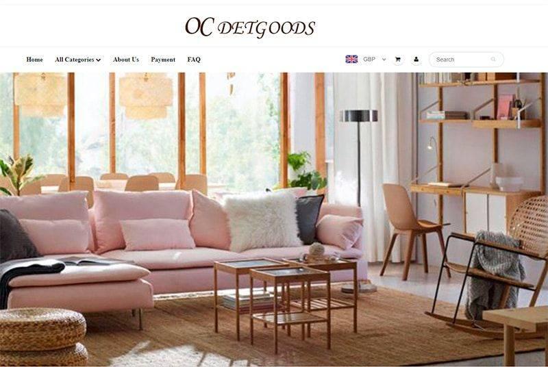 Ocdetgoods.com Tienda Falsa Online Multiproducto