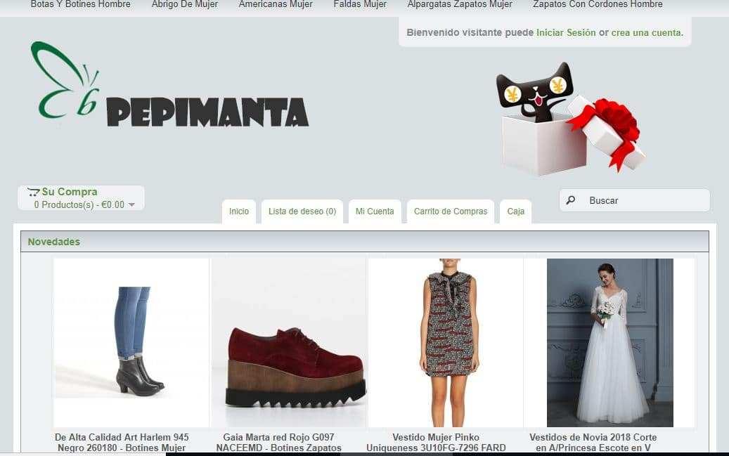 Pepimantas.es Tienda Falsa Online Moda