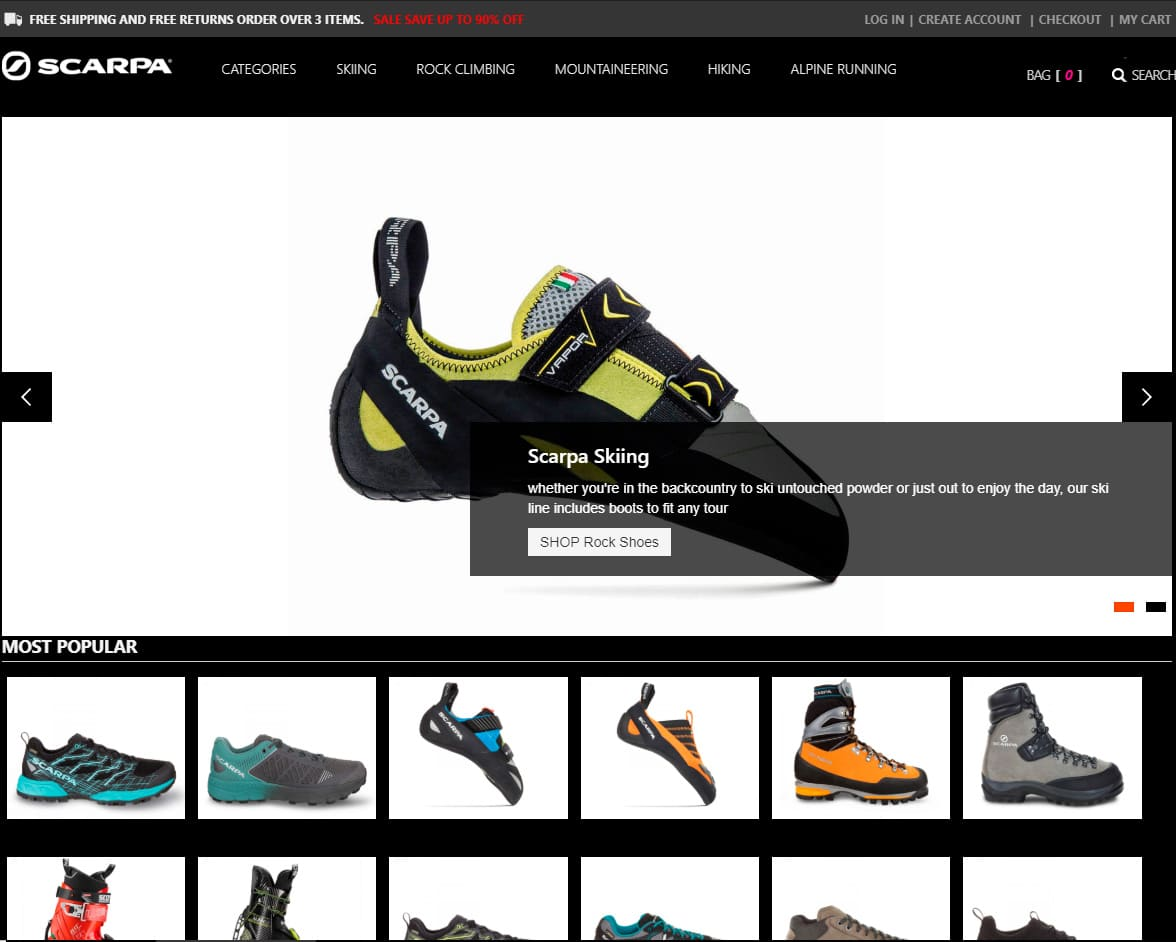 Shoptcyqct.tw Tienda Online Falsa Scarpa