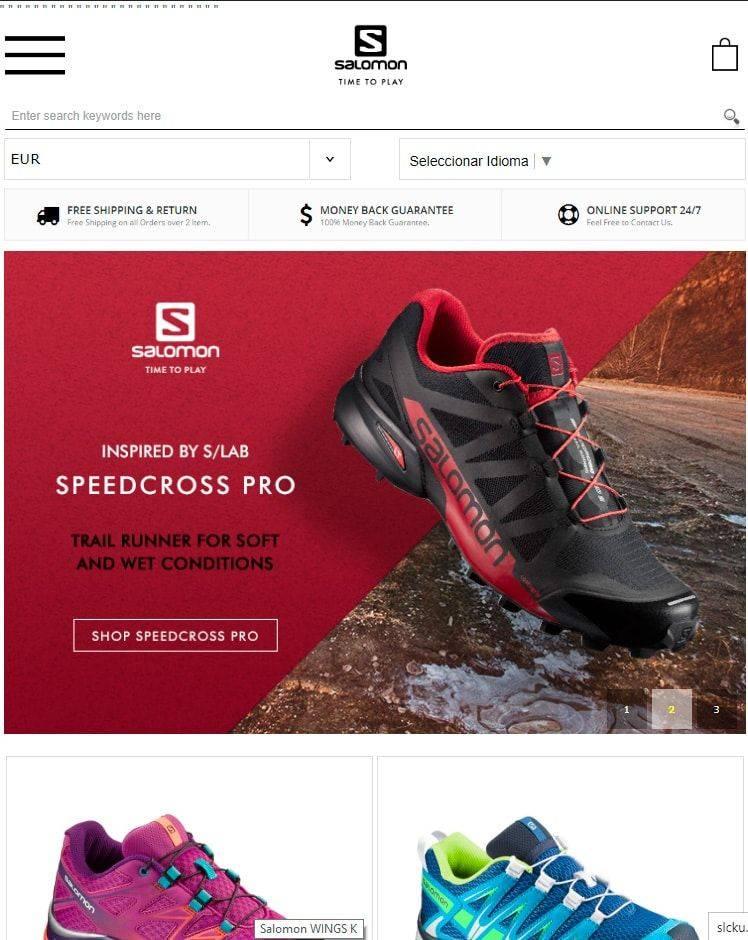 Slcku.com Tienda Falsa Online Salomon
