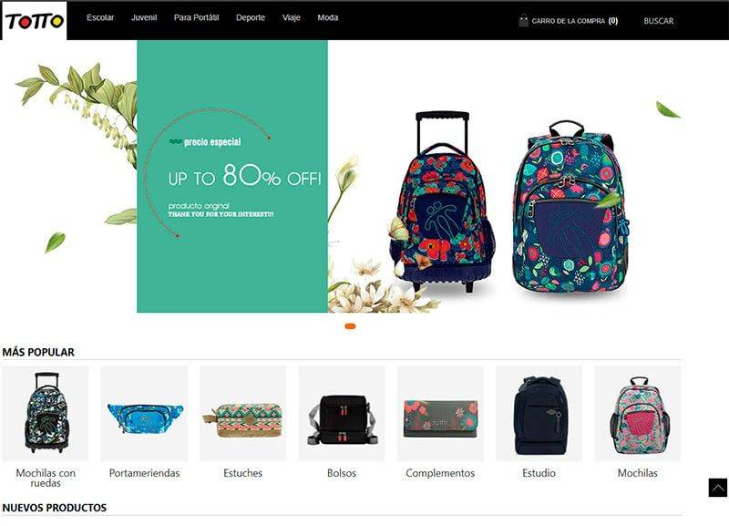 Totatienda.com Tienda Falsa Online Totto