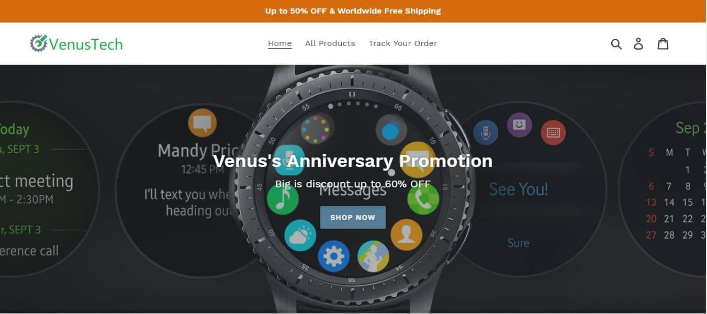 Venustech.shop Tienda Falsa Online Multiproducto