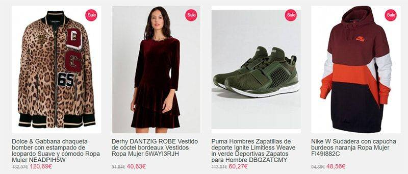 Ingerema.es Tienda Falsa Online