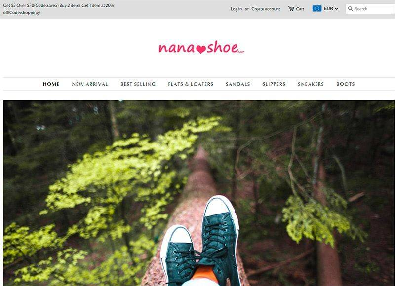 Nanashoe.com Tienda Online Falsa Zapatos