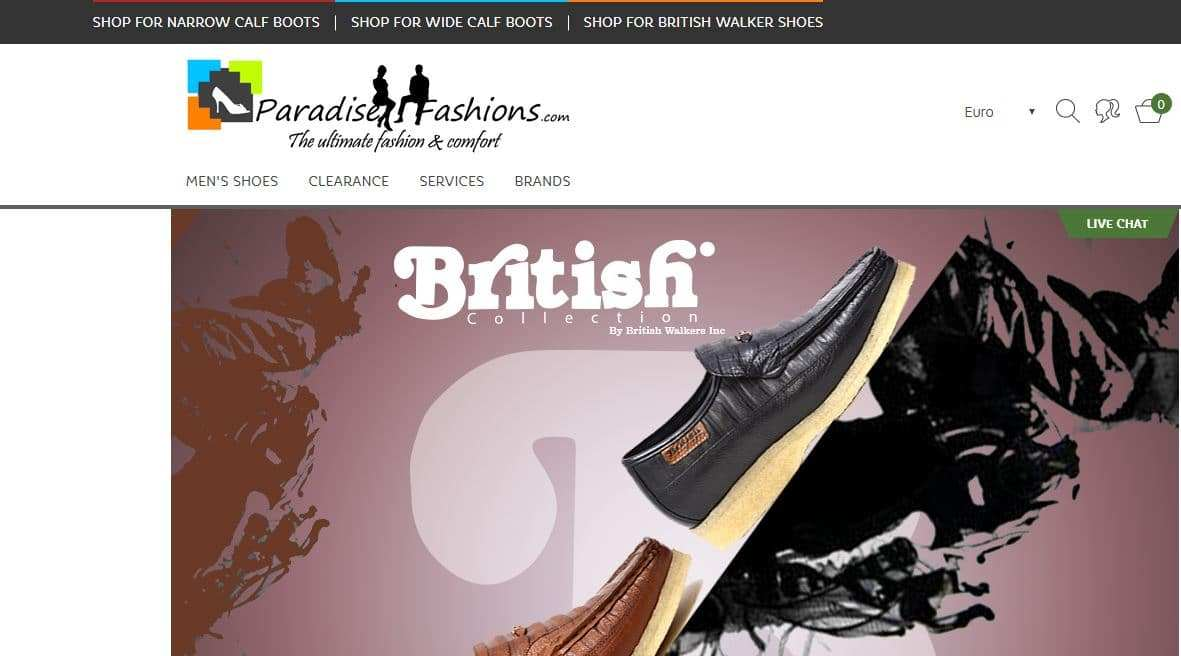 Paradisefashions.com Tienda Falsa Online Botas