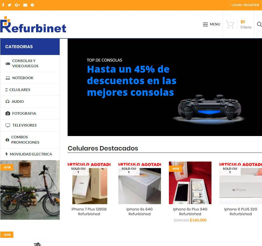 Refurbinet.com Tienda Falsa Online Electronica