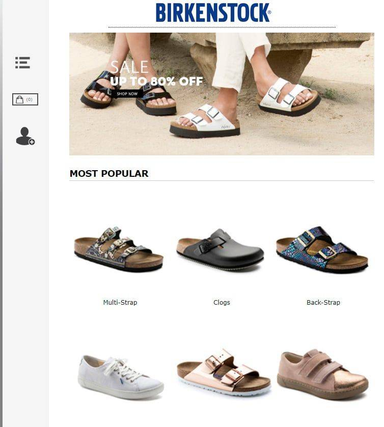 Bkenct.com Tienda Falsa Online Birkenstock