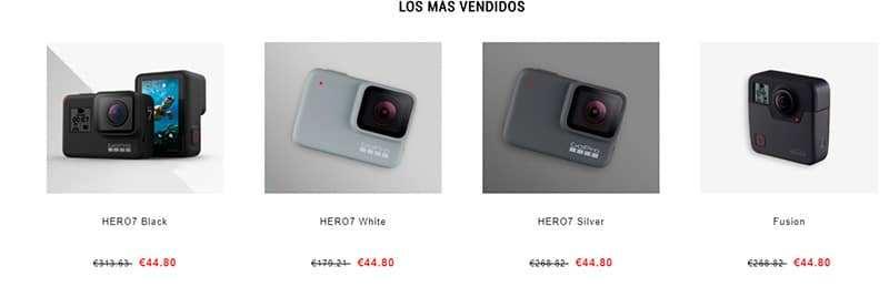 Camerasgo.com Tienda Falsa Online