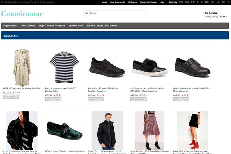 Conmicamaracuestas.es Tienda Falsa Online Moda