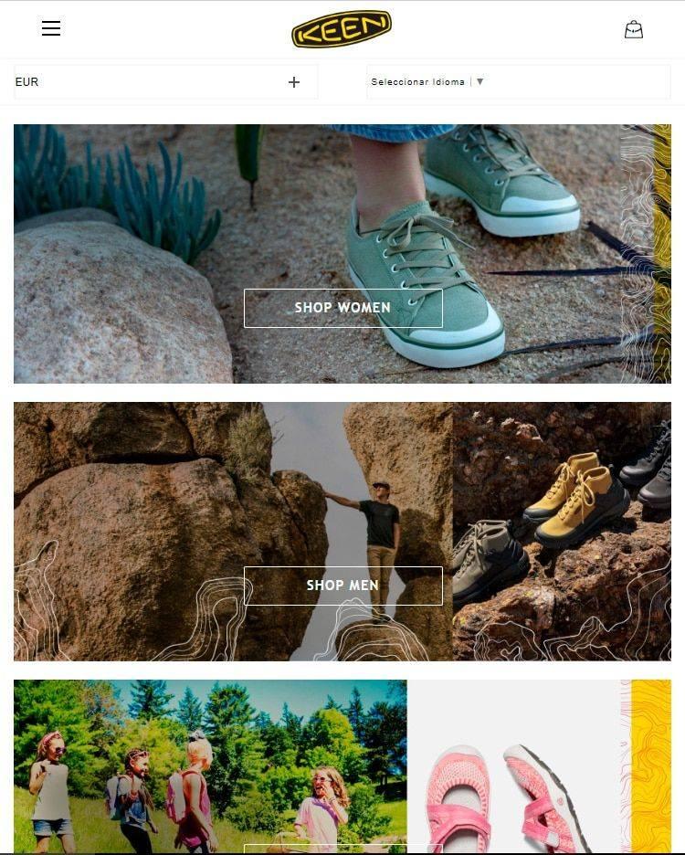Coolshoess.club Tienda Falsa Online Keen