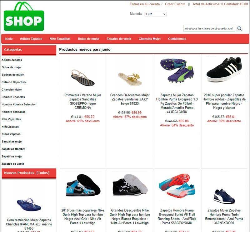 Juliacates.co Tienda Falsa Online Calzado