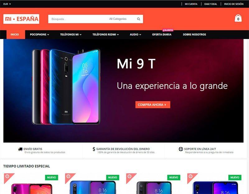 mi-movil-online Tienda Falsa Online Xiaomi