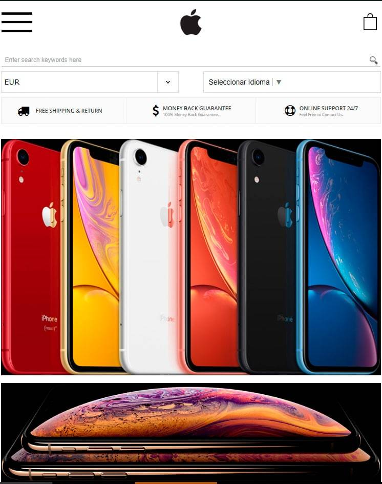 Mobilc.top Tienda Falsa Online Apple