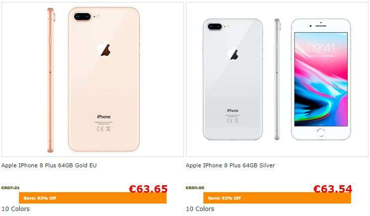 Mobilc.top Tienda Falsa Online