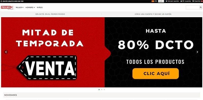 Pikoes.online Tienda Falsa Online Pikolinos