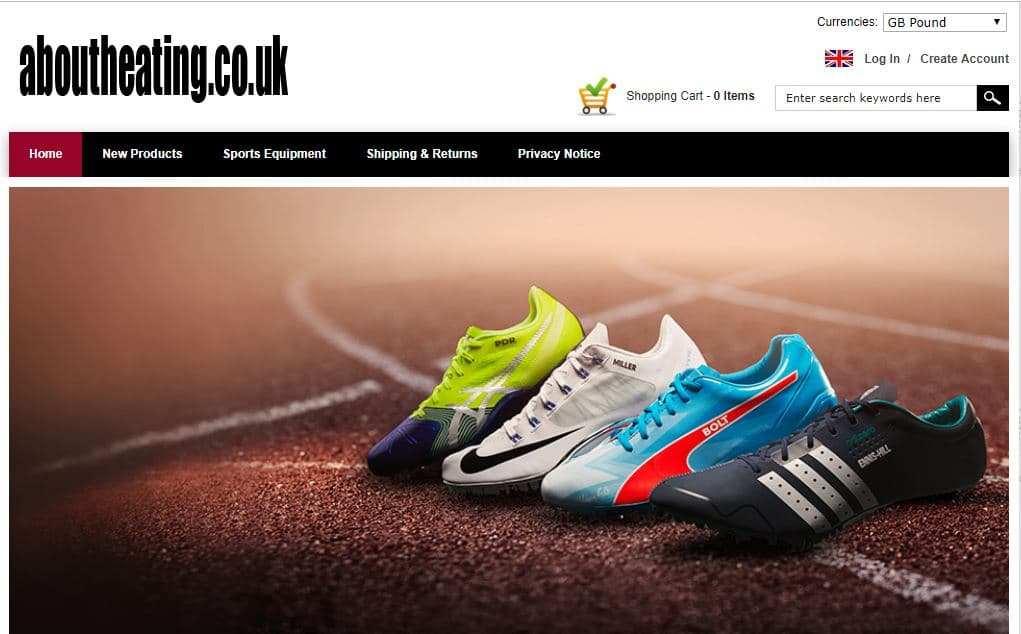 Uknewshoe.co.uk Tienda Falsa Online Deportes