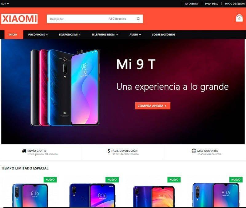 Xiaomes.com Tienda Falsa Online Xiaomi