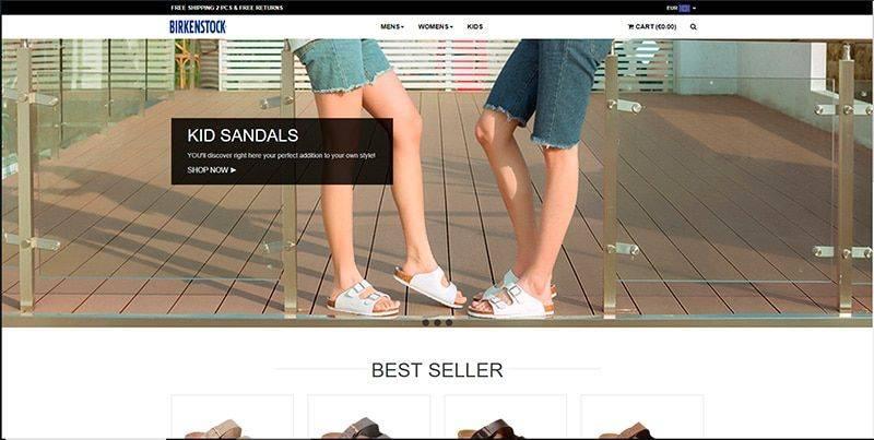 Brisandals.shop Tienda Falsa Online Birkenstock