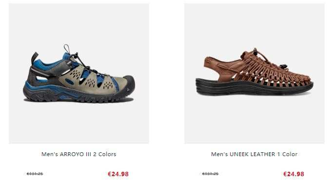 Keeneshop.com Tienda Falsa Online