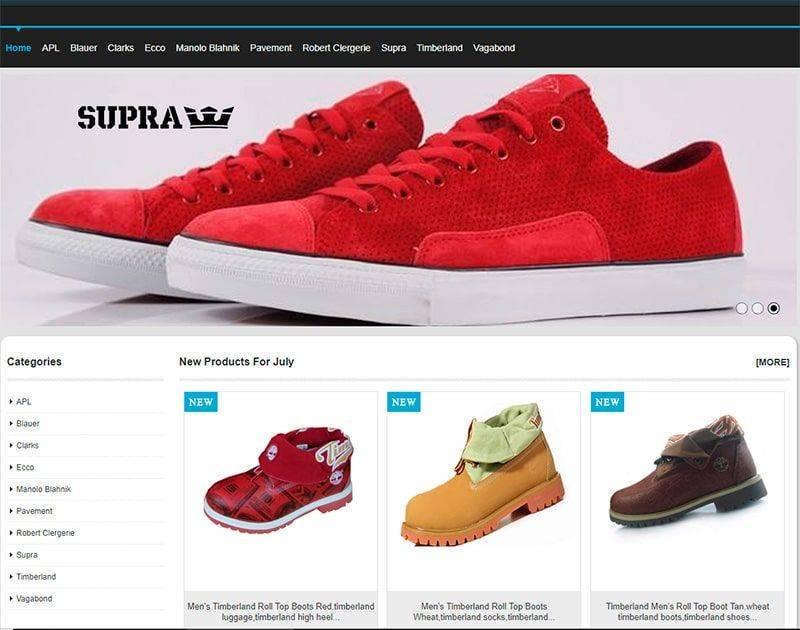 Kristimishell.com Tienda Falsa Online Calzado