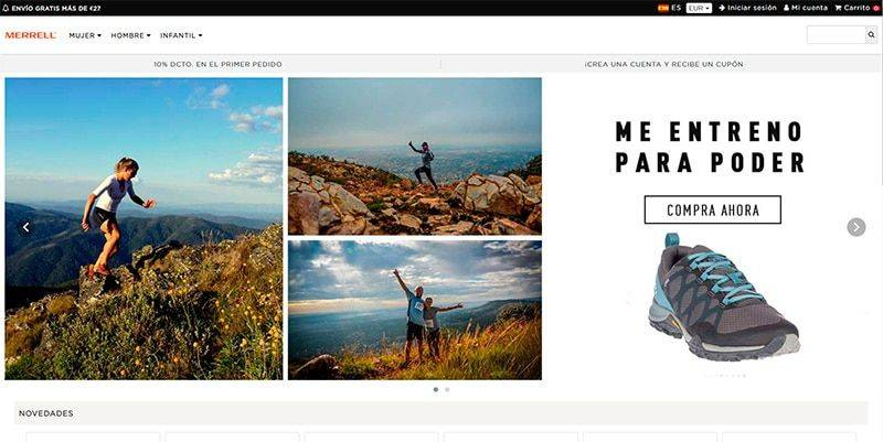 Merrelleco.online Tienda Falsa Online Merrell