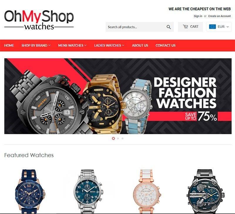 Ohmyshop.co.za Tienda Falsa Online Relojes