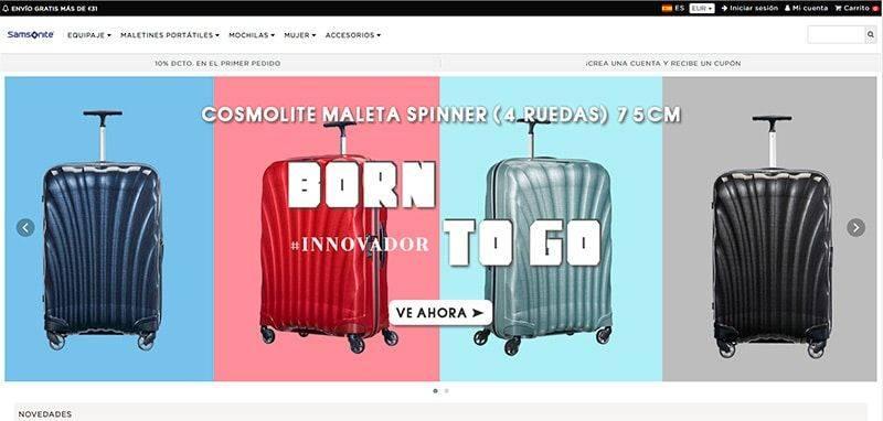 Fashiononline.online Tienda Falsa Online Samsonite