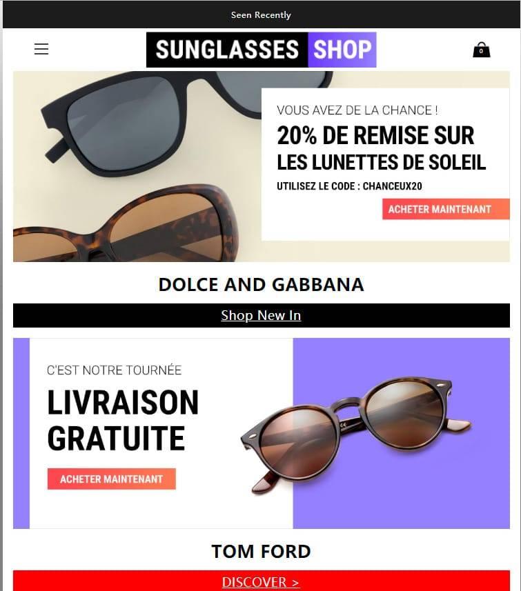 Okked.com Tienda Falsa Online Gafas De Sol