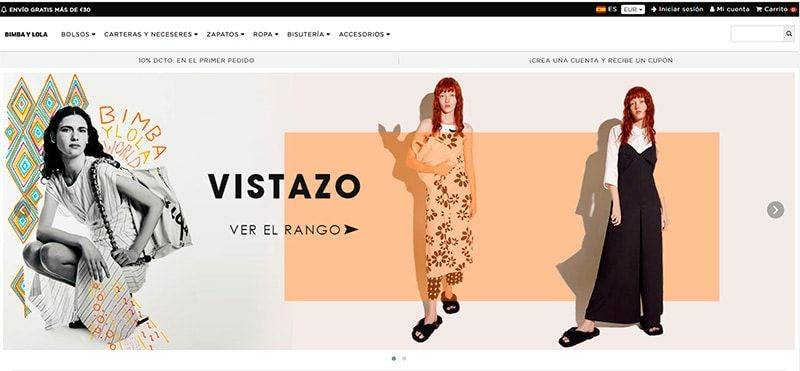 Bimbaylolane.online Tienda Falsa Online Bimba Y Lola