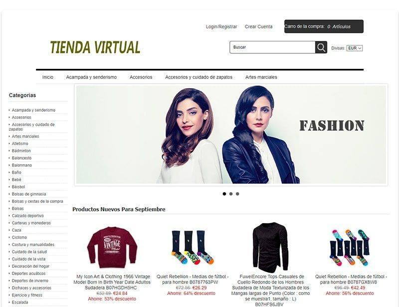 Nefredes.es Tienda Online Falsa Moda