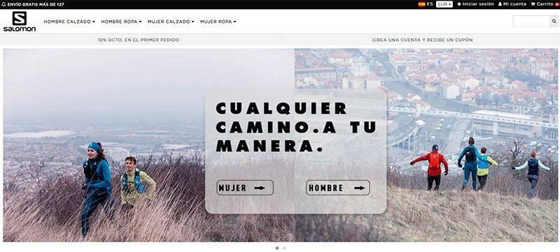 Salomoncle.online Tienda Online Falsa Salomon