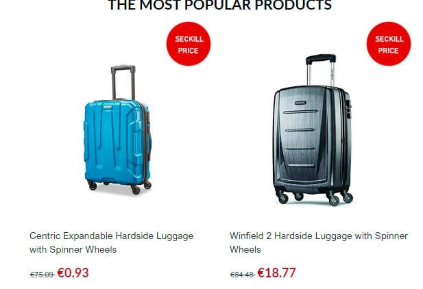 Yth87.top Fake Online Shop Suitcases Samsonite