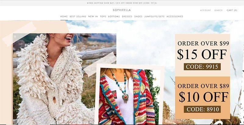 Sophieella.com Tienda Online Falsa Moda
