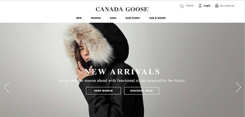 Auucanada.com Tienda Falsa Online Canada Goose