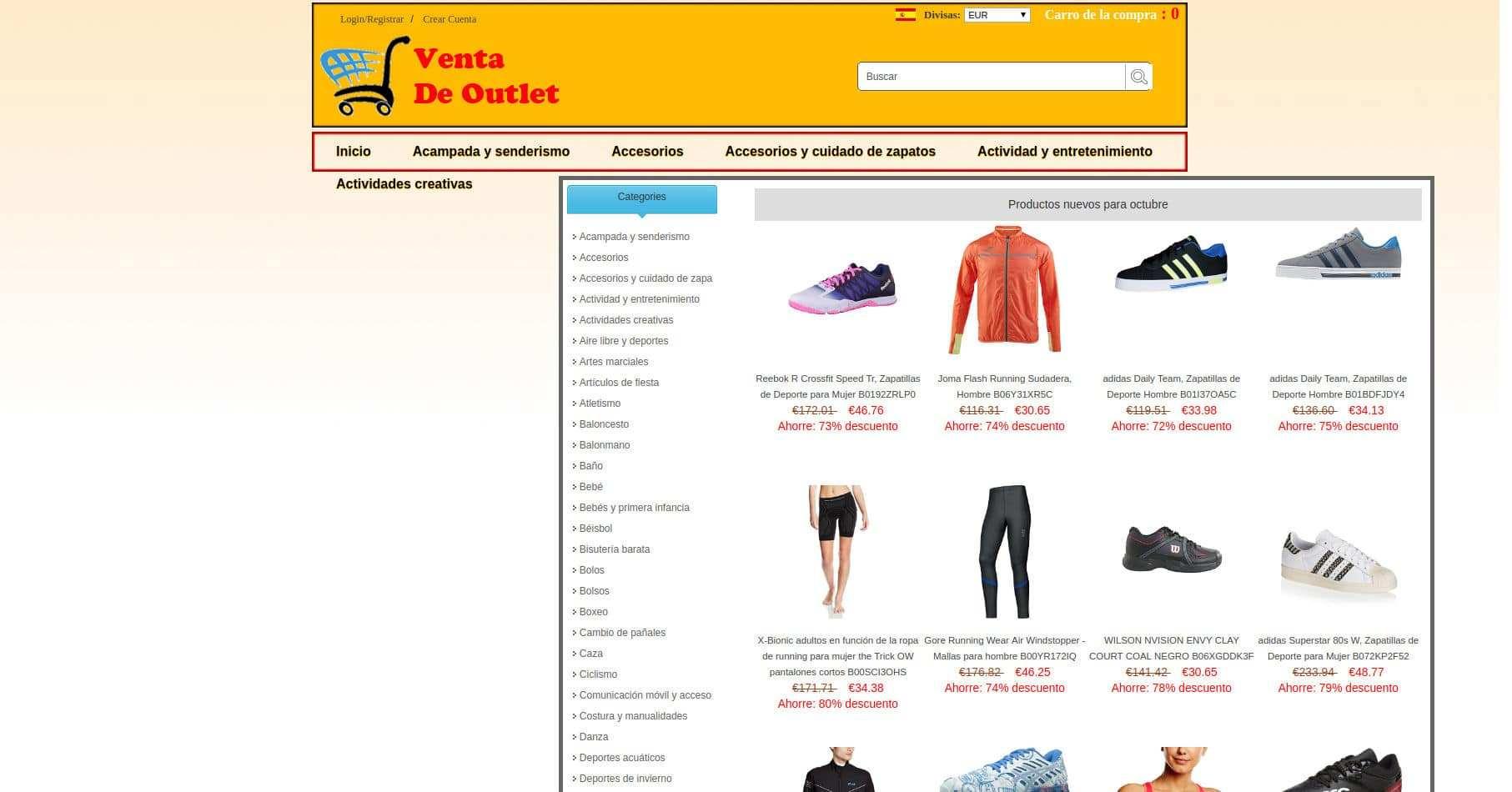 Checkinplay.es Tienda Falsa Online Multiproducto