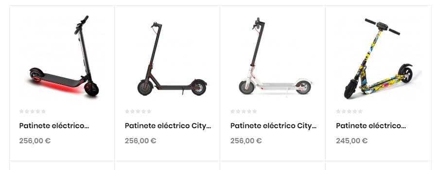 e-wheel-shop.net Tienda Falsa Online Patinetes Electricos