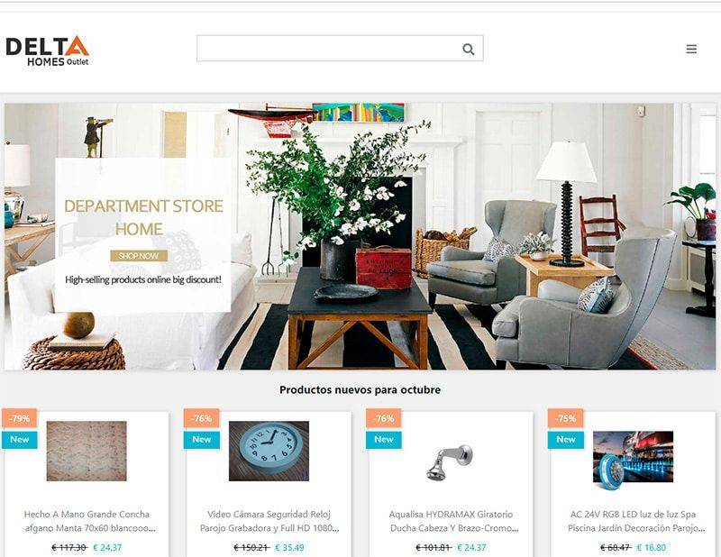 Jroosevelt.com Tienda Falsa Online Decoracion