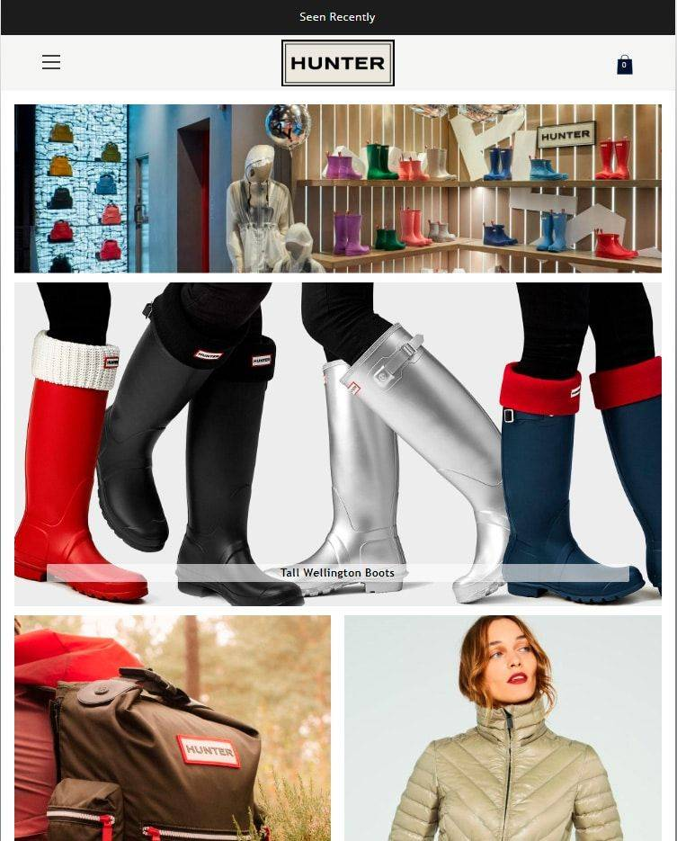 Rainbootsstores.club Tienda Online Falsa Hunter