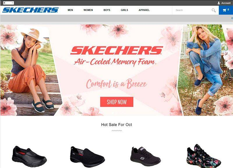 Saleskechers.shop Tienda Online Falsa Skechers
