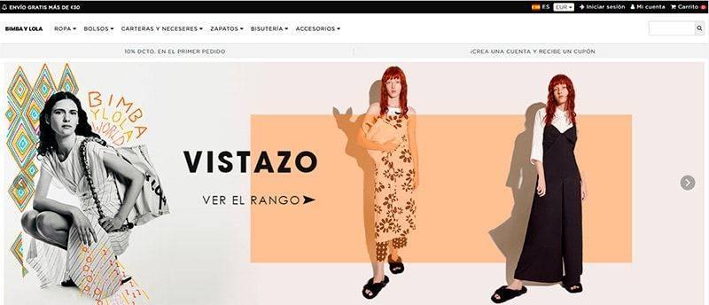 Bimbaylolashop.online Tienda Online Falsa Bimba Y Lola
