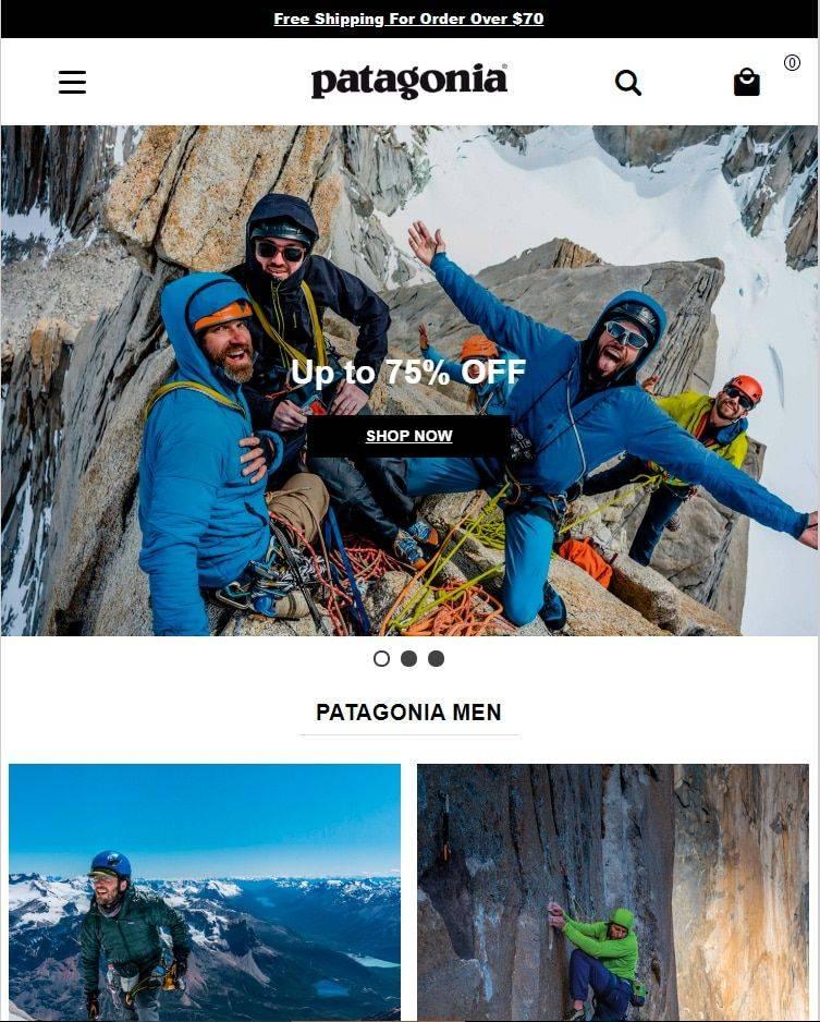 Patagoniamalls.site Tienda Online Falsa Patagonia