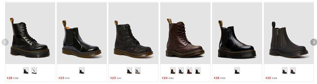 Drmartenssale.store Tienda Online Falsa
