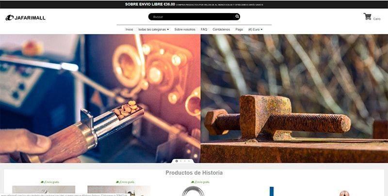Jafarimall.com Tienda Online Falsa Multiproducto