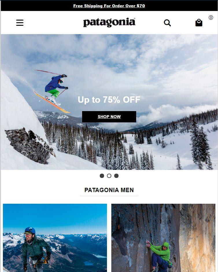 Patagoniaoutletmall.top Tienda Online Falsa Patagonia