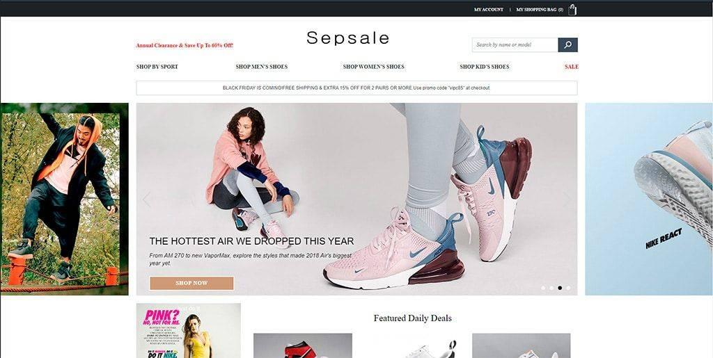 Sepsale.com Tienda Falsa Online Zapatillas Nike