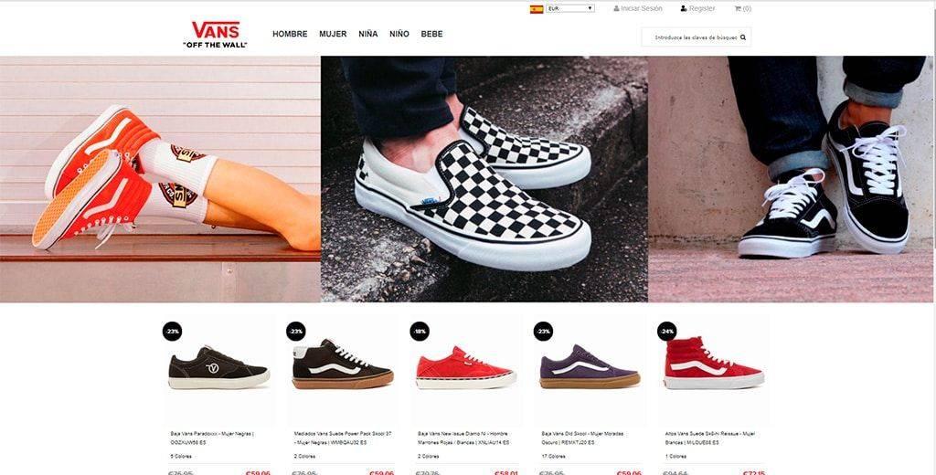 Katataos.es Tienda Falsa Online Vans